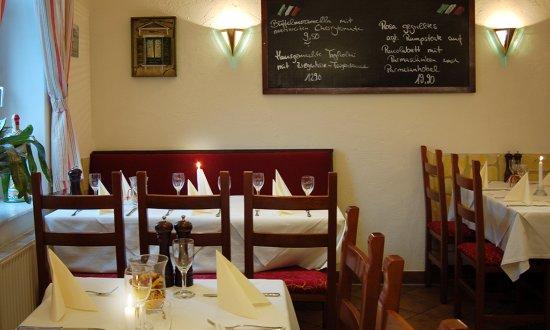 Wunstorf, Allemagne : Auch für einen romantischen Dinner geeignet.