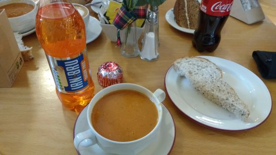 Lunch at the Highland Folk Museum