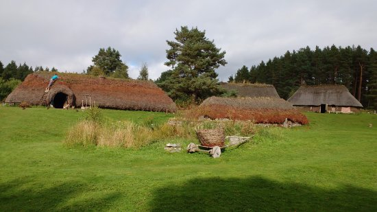 Newtonmore, UK: The Baile GeanTownship at the Highland Folk Museum