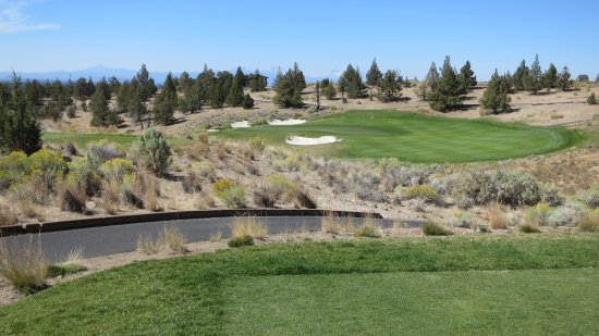 Powell Butte, Oregón: Brasada Ranch Hole 6
