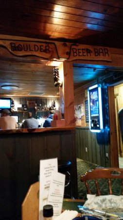 Boulder Junction, WI: Fish fry at Boulder Beer Bar