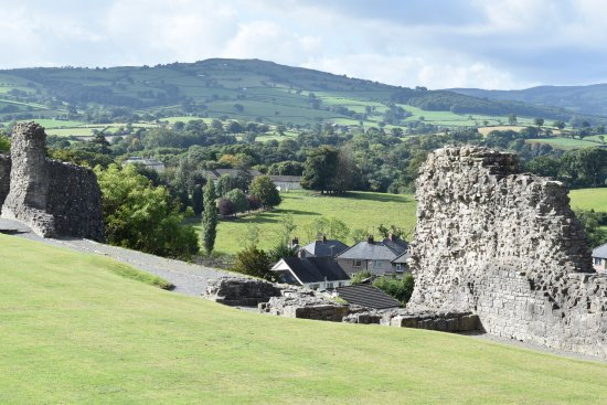 Denbigh, UK: View 1 from inside the Castle