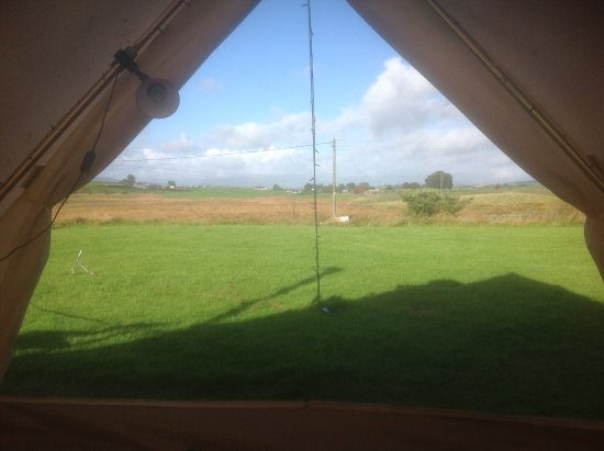 Rhydlydan, UK: View from side tent