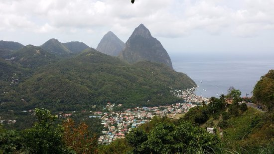 Vieux Fort, Sta. Lucía: Amazing tour of St Lucia