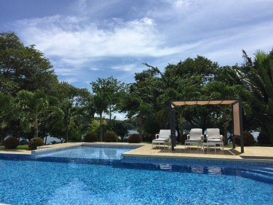 Boca Chica, Panama : VISTA DE LA PISCINA