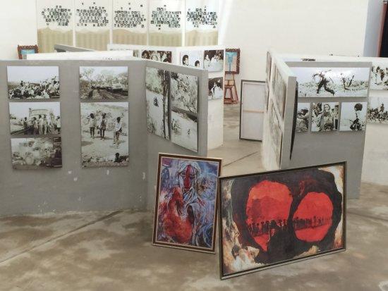 Mek'ele, Αιθιοπία: Interior of the Martyrs museum