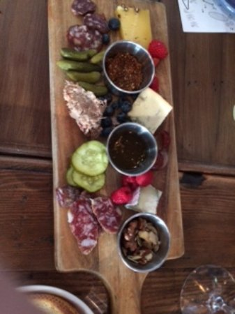 Danville, CA: Charcuterie with artisan cheese