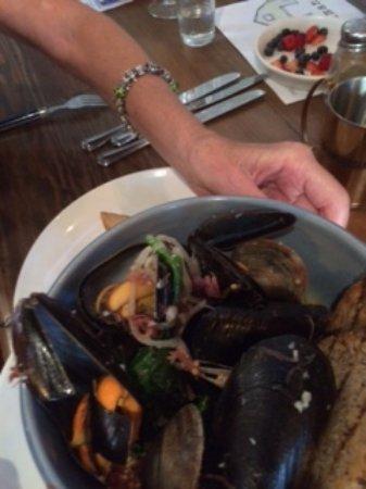 Danville, CA: Mussels