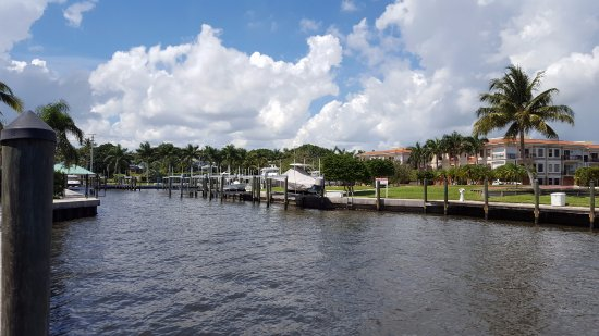 Jensen Beach, FL: Canal View