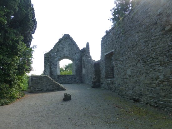 County Kildare, Irlanda: Ruins of the Monastery