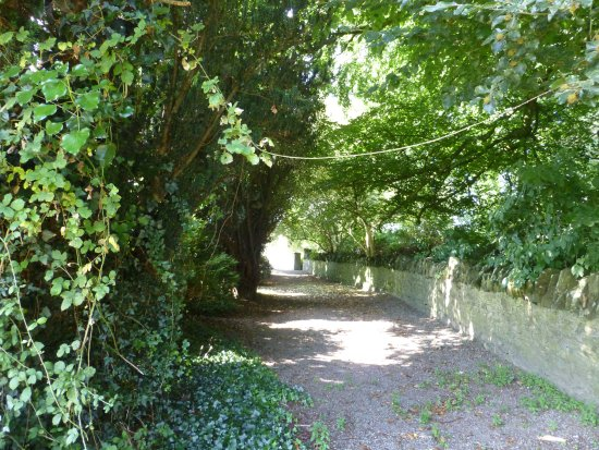 County Kildare, Irland: Path to the monestary