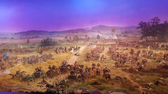 Gettysburg National Military Park: part of The Cyclorama