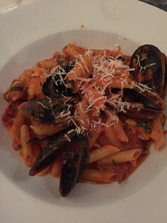 Trinity Beach, Australia: gluten-free pasta dish