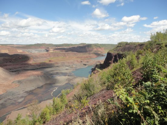 Hibbing, MN : A slice of the southwest, canyons and mesas in northern Minnesota