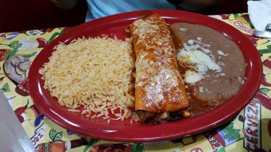 Ashburn, VA: Burrito Jambalaya
