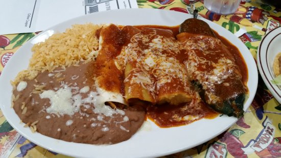 Ashburn, VA: Tamale, Enchilada, Chile Releno