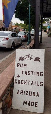 Desert Diamond Distillery Tasting & Cocktail Room: Signage
