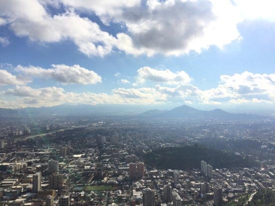 Cerro San Cristóbal: Vista desde la cima del cerro