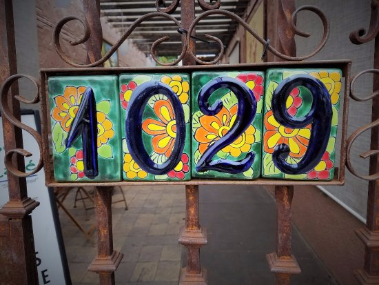 Cottonwood, AZ: Address Sign