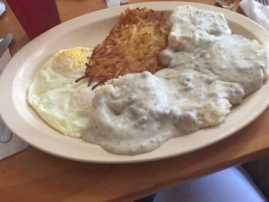 Floral City, Floryda: biscuits and gravy!!!