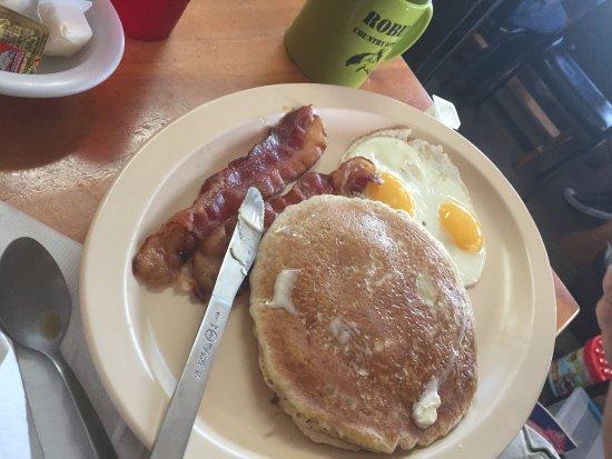 Floral City, Flórida: pancakes