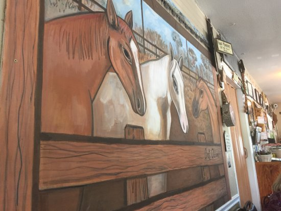 Floral City, Floryda: horse mural