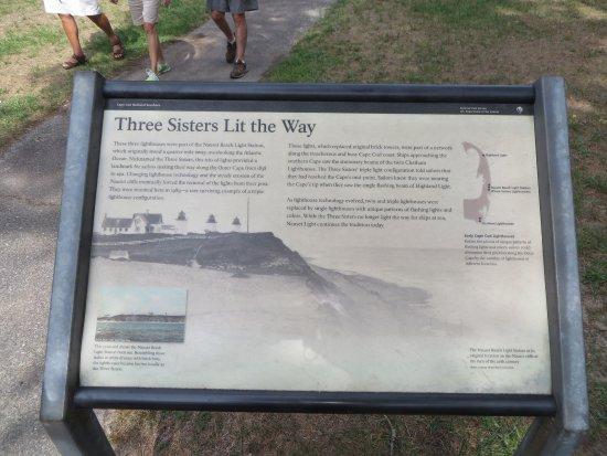 Cape Cod National Seashore: The original three lighthouses used to mark Cape Cod