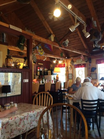 Mama D's Cafe Mercantile: Une des tables
