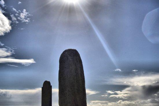 Navan, İrlanda: Lia Fáil, the Stone of Destiny, or the Coronation Stone.