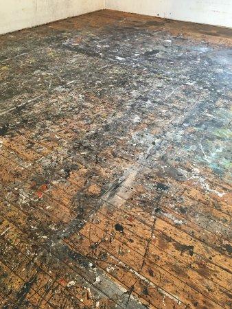 East Hampton, NY: The floor