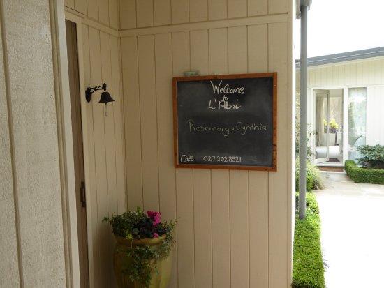 L'Abri: A personal welcome