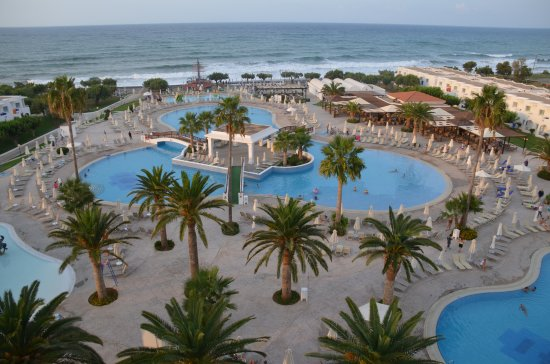 Louis Creta Princess Beach Hotel: Morning view from our balcony :)