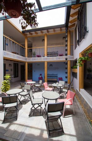 patio picture of corazon del cafe hotel boutique comitan