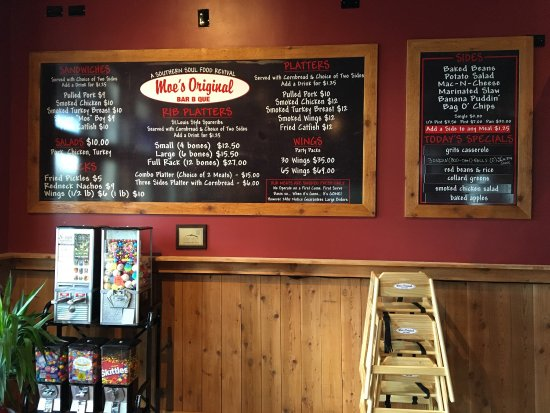 Roswell, GA: Get happy at Moe's Original Bar-B-Que