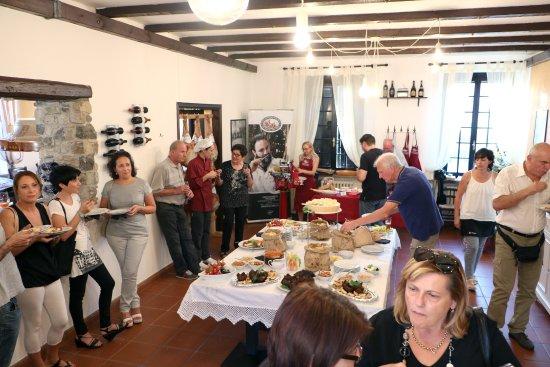San Daniele del Friuli, Italië: BUFFET INAUGURAZIONE