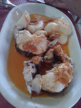 Camarinas, Spanje: pescado a la caldeirada
