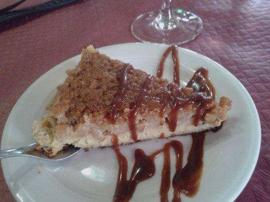Camarinas, Spanje: tarta de castañas