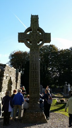 County Louth, Irland: Large Celtic Cross