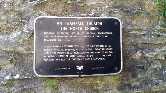 County Louth, Irland: The North Church sign