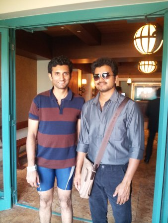 Bumped Into Popular Tamil Actor Vijay In Doplhin Bay Picture Of