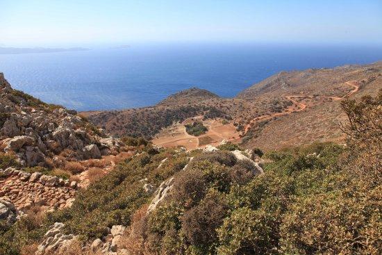 Ravdoucha, Grèce : Uphill
