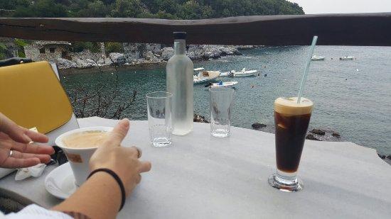Mouresi, Grèce : Damouhari port