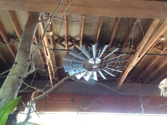 Novato, Californië: recycled ceiling fan
