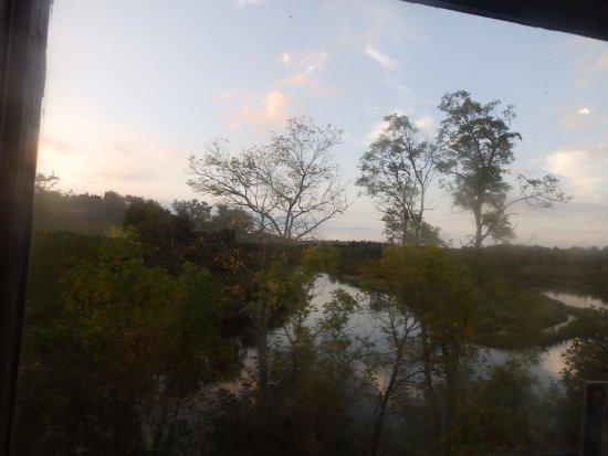 สปูนเนอร์, วิสคอนซิน: Sun set at Yellow River