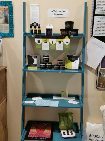 Los Alamos, NM: CBD tinctures, sprays and edibles, oh my! Local skincare line called Ardeo. And a new receptions