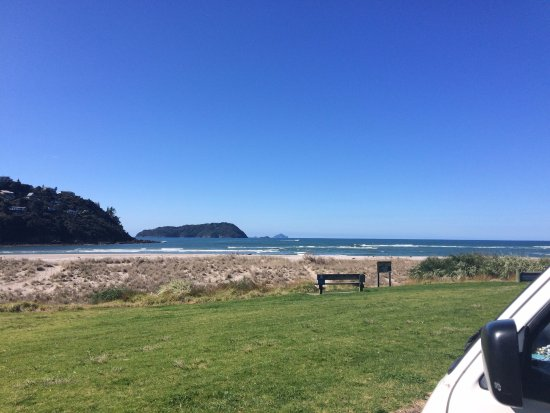 Pauanui, Yeni Zelanda: Billy Point Ausblick