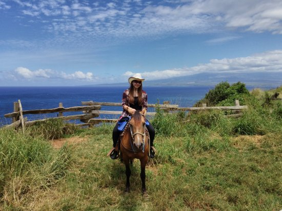 Wailuku, Hawaï: Such a beautiful view at Mendes Ranch