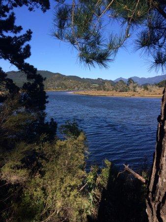 Pauanui-Tairua Trail - Pause auf einer der vielen Bänke
