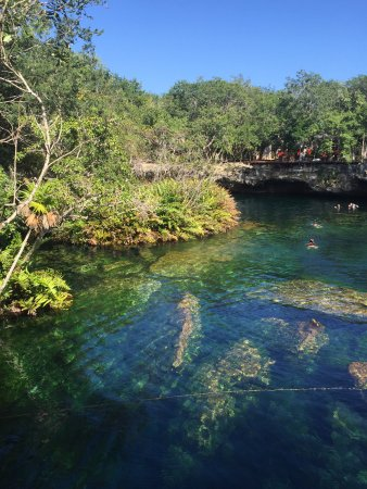 Yucatan, Mexico: Cenote in the sun