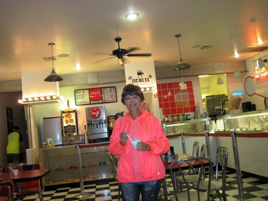 Panguitch, UT: Home made blueberry ice cream and more